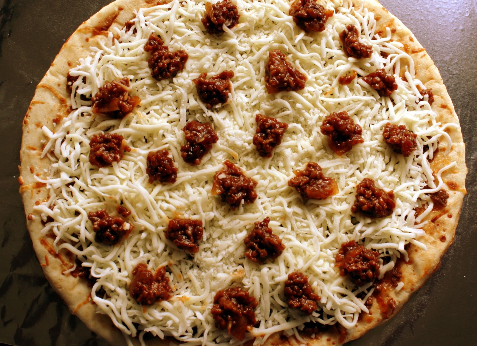 Ground Beef Pizza  Ground Beef Barbecue Pizza