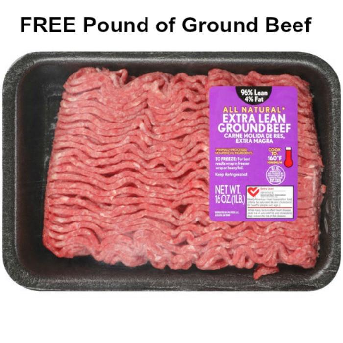 Ground Beef Price Per Pound  Walmart FREE Pound of Ground Beef wyb 3 Hamburger Helper