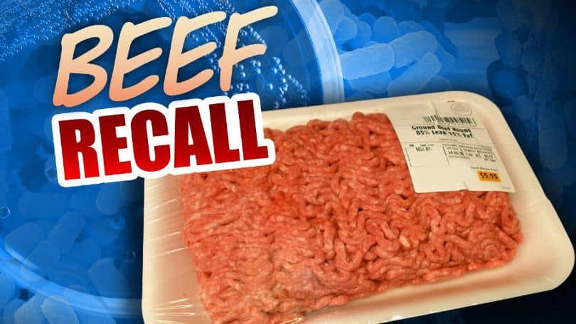 Ground Beef Recall  Recall issued for ground beef sold at Meijer and Sam's