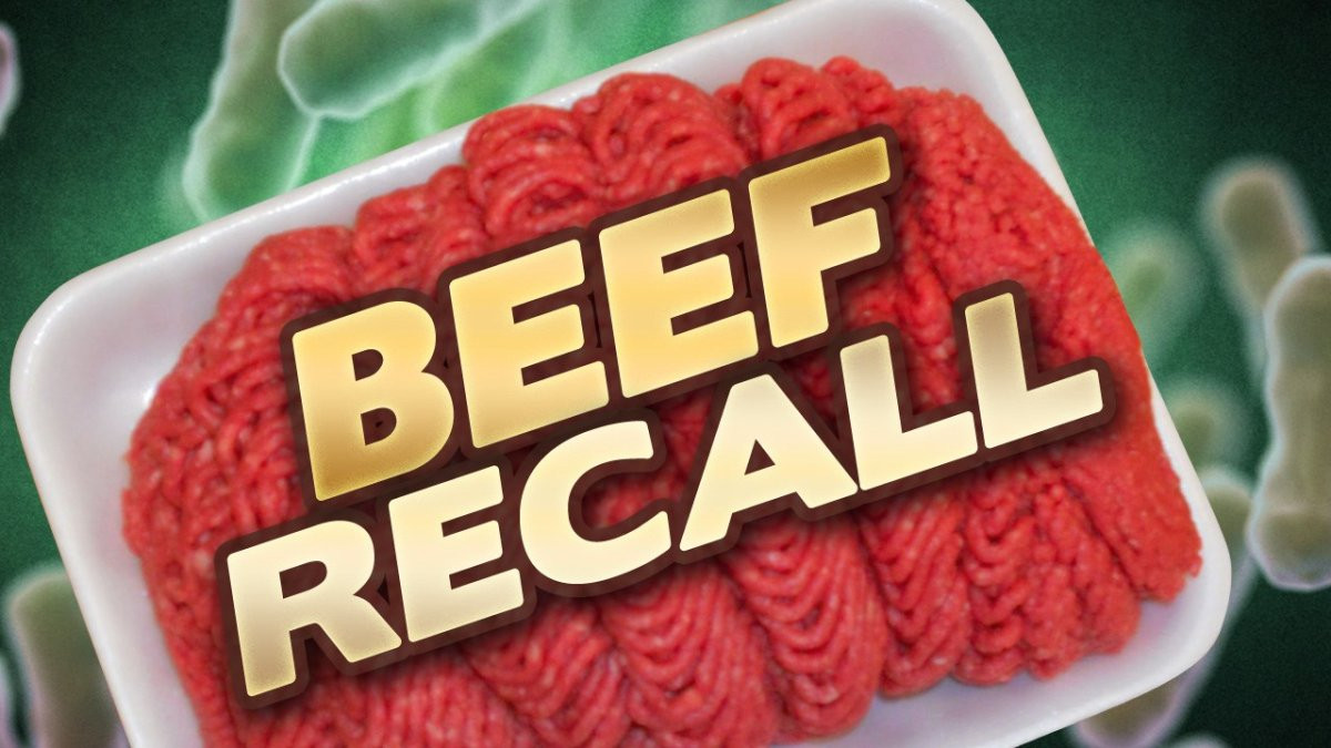Ground Beef Recall  USDA announces ground beef recall because of possible E