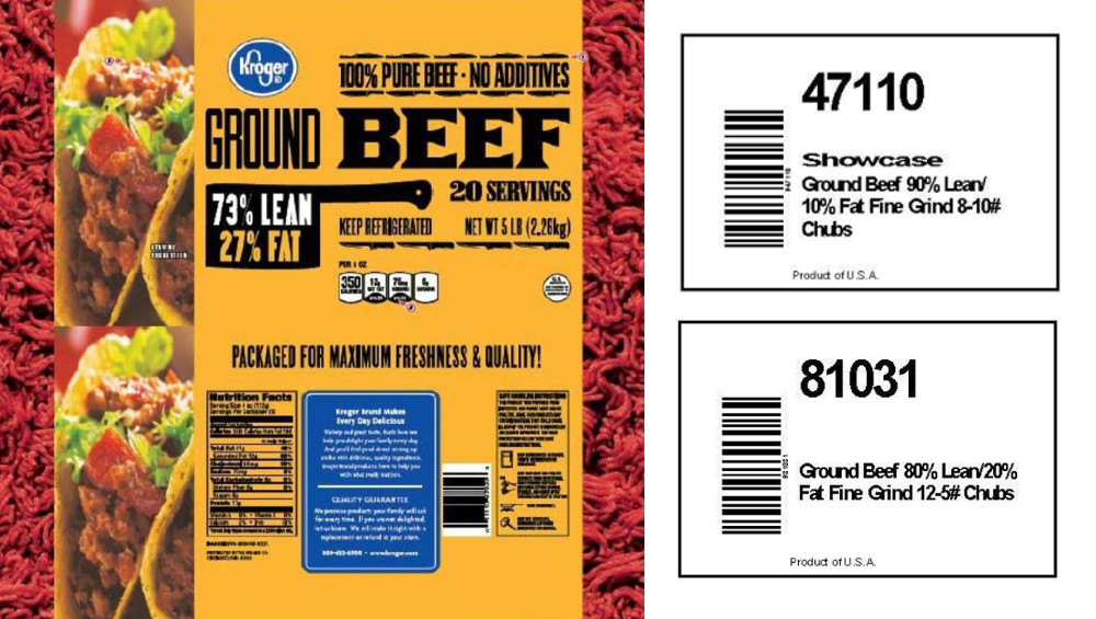 Ground Beef Recall  More retail locations disclosed in 6 9 million pound JBS