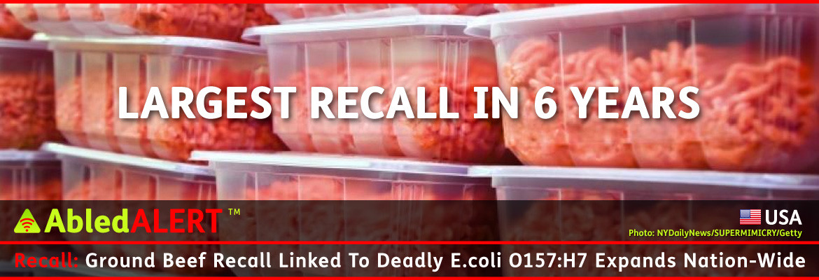 Ground Beef Recall  Abled