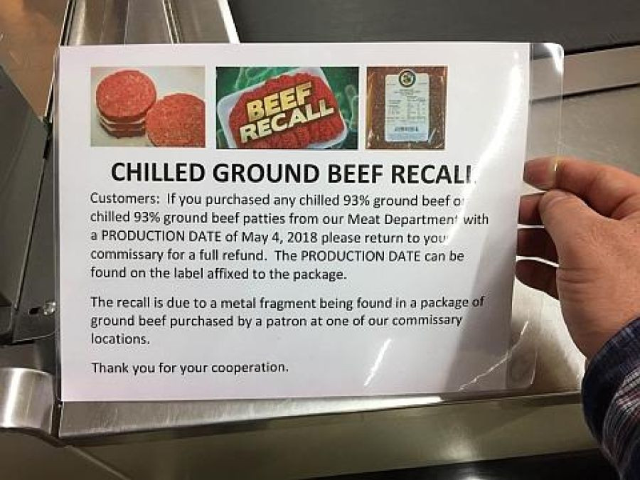Ground Beef Recall  missaries in Europe recall thousands of pounds of beef