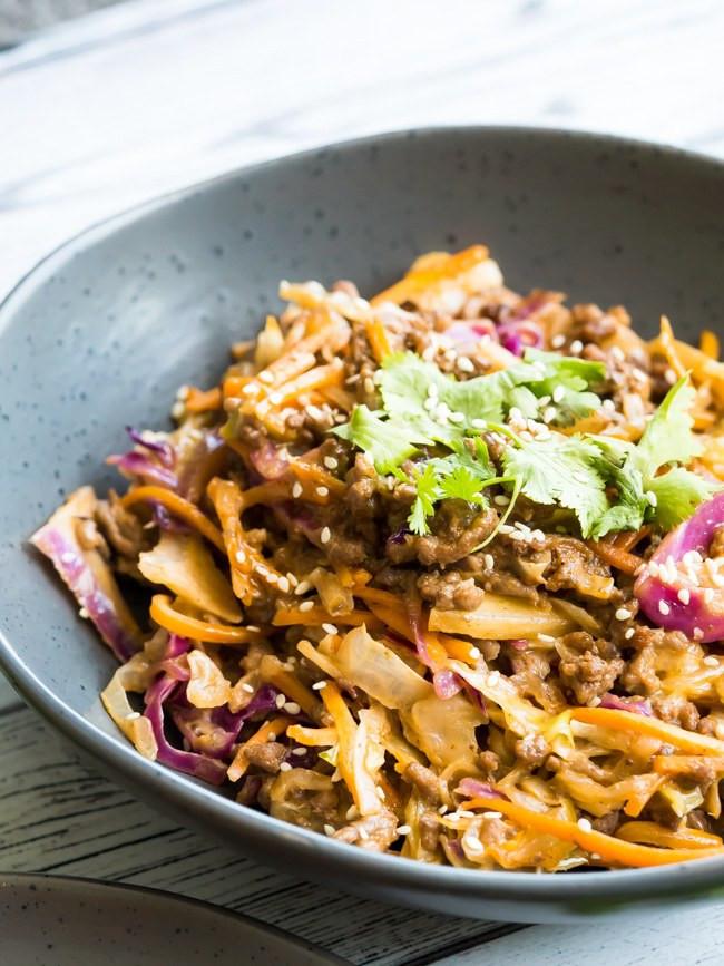 Ground Beef Recipes Keto  Creamy Keto Slaw Recipe
