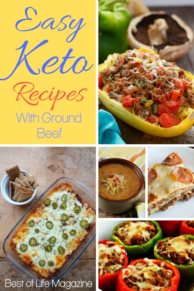 Ground Beef Recipes Keto  Easy Keto Recipes with Ground Beef The Best of Life Magazine