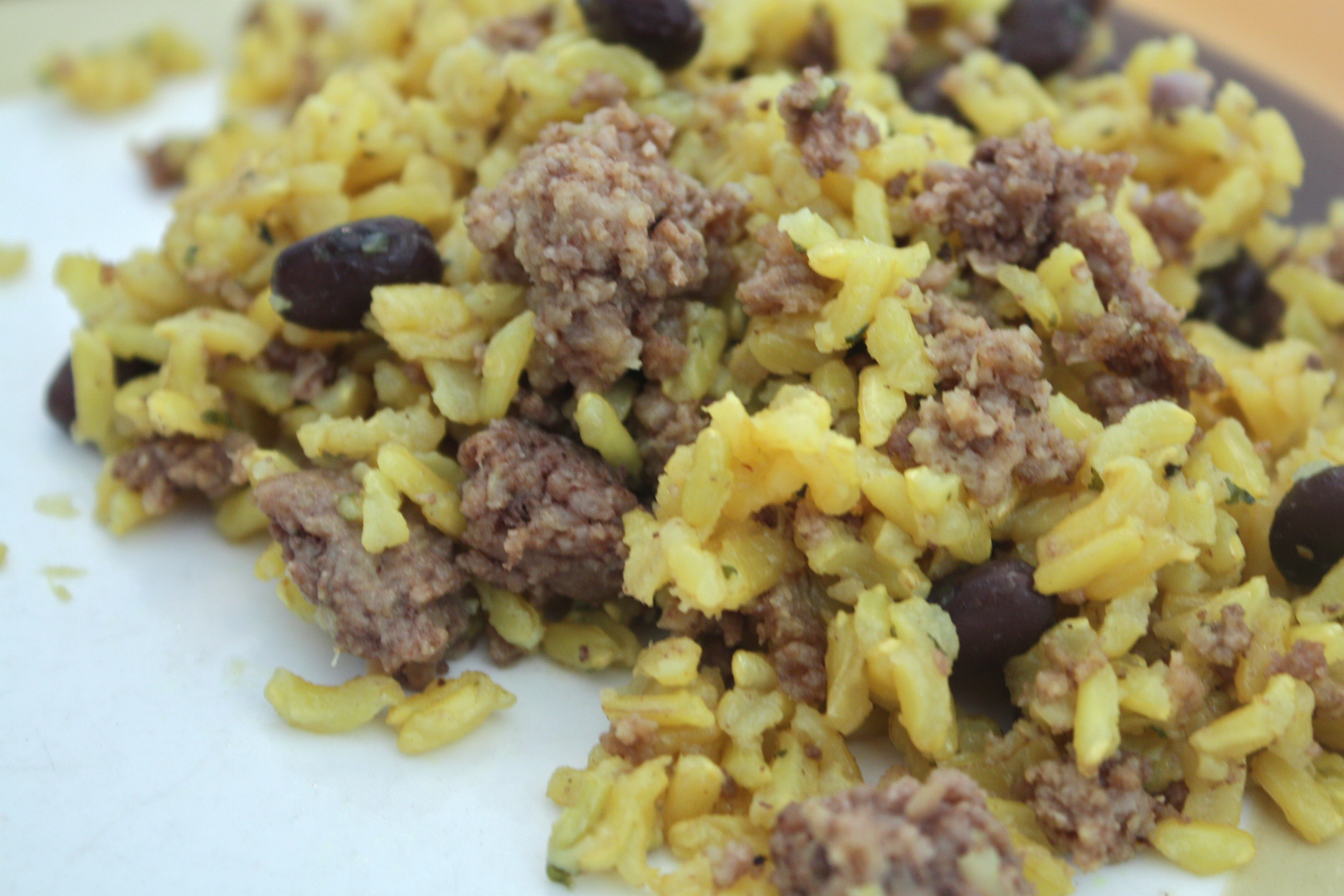Ground Beef Rice  Ground Beef Rice and Beans Anne Jisca s Healthy Pursuits