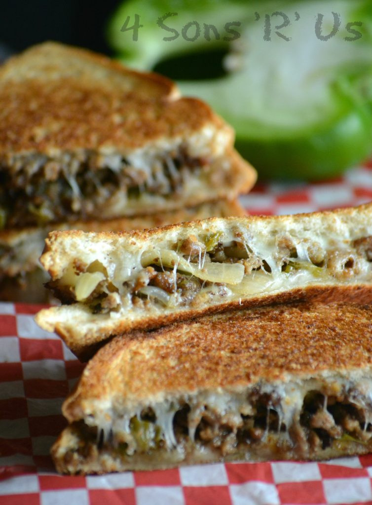 Ground Beef Sandwich  Ground Beef Philly Cheesesteak Grilled Cheese 4 Sons R Us