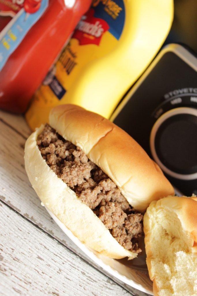 Ground Beef Sandwich  Maid Rite Recipe in the Crock Pot