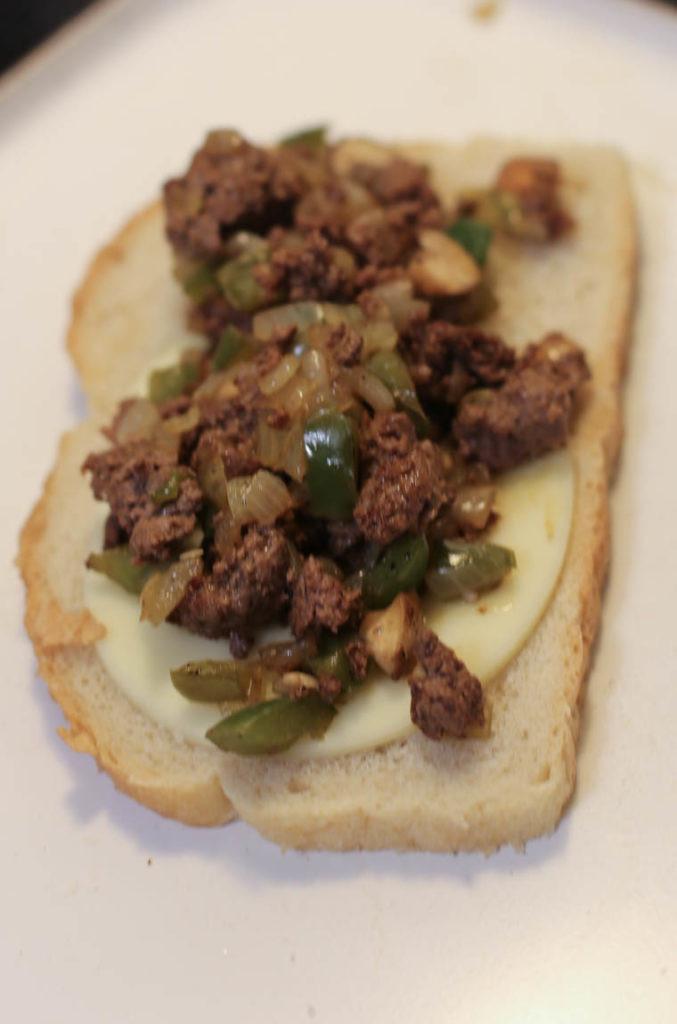 Ground Beef Sandwich  Ground Beef Philly Cheesesteak Sandwiches