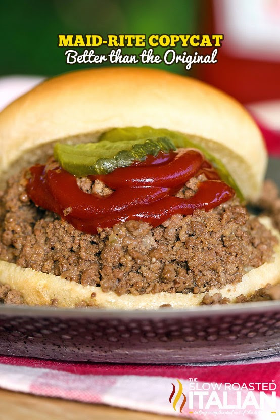 Ground Beef Sandwich  Maid Rite Copycat Loose Meat Sandwiches NEW VIDEO