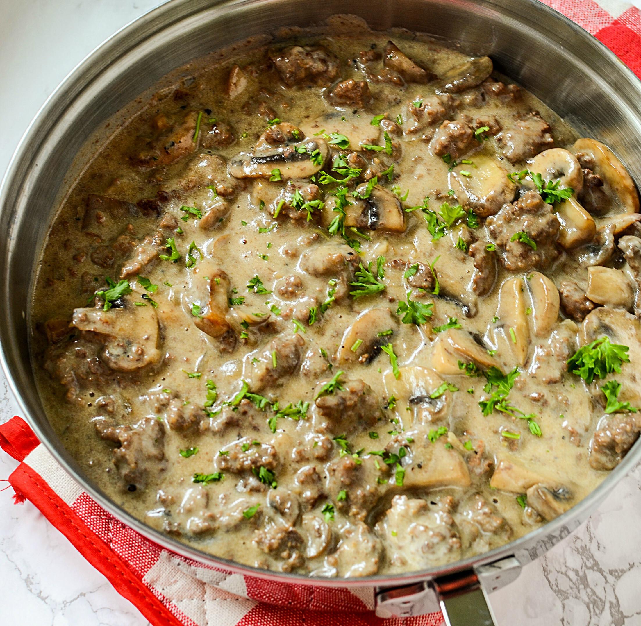 Ground Beef Stroganoff Recipes  Ground Beef Stroganoff