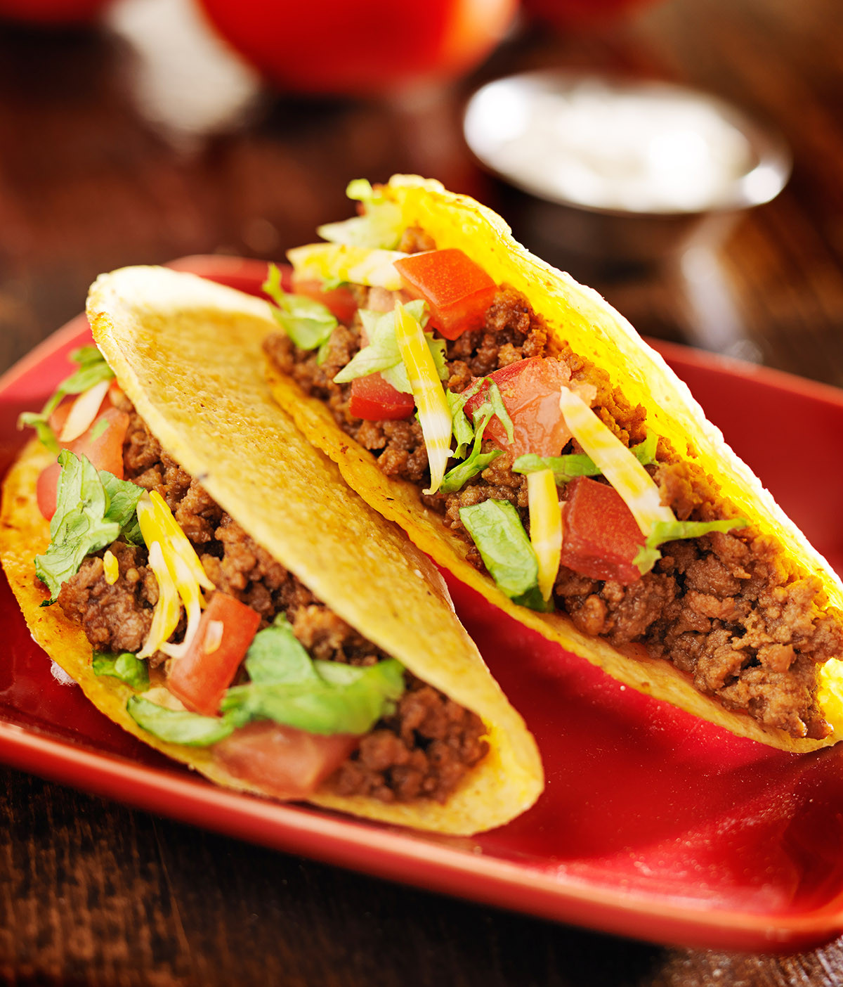 Ground Beef Taco Recipe  Easy Ground Beef Tacos Beef Recipes