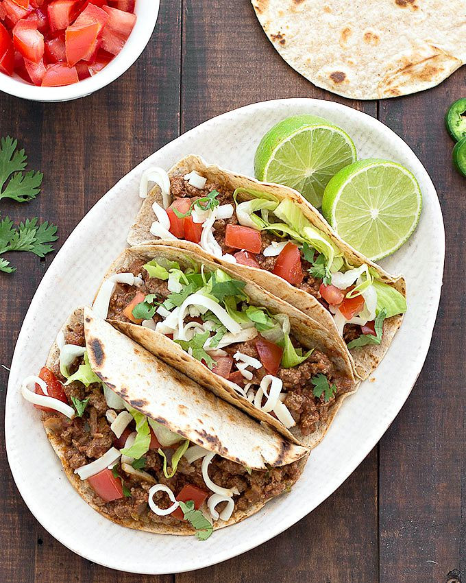 Ground Beef Taco Recipe  Easy Ground Beef Tacos As Easy As Apple Pie