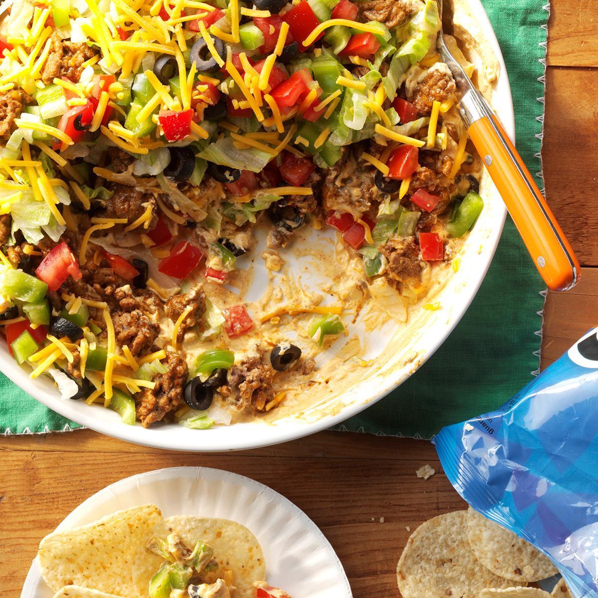 Ground Beef Taco Recipe  Ground Beef Taco Dip Recipe