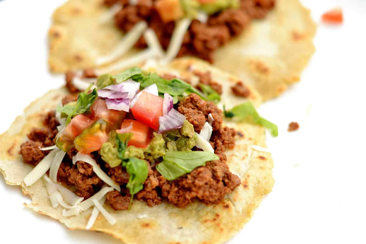 Ground Beef Taco Recipe  Slow Cooker Ground Beef Tacos Wholesomelicious
