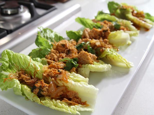 Ground Chicken Lettuce Wraps  Ground Lamb Ginger Lettuce Wraps thekitchenman