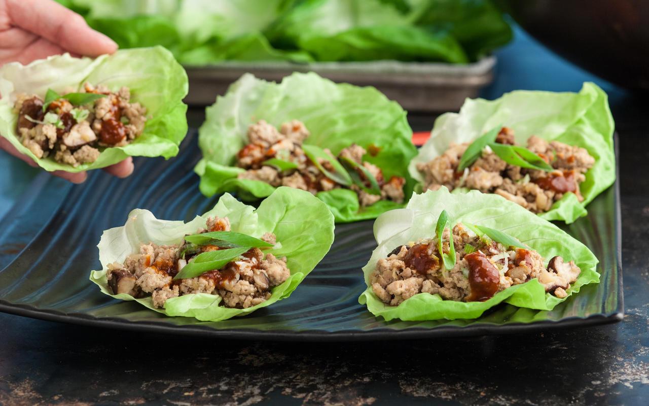 Ground Chicken Lettuce Wraps  Ground Chicken Lettuce Wraps Recipe Chowhound