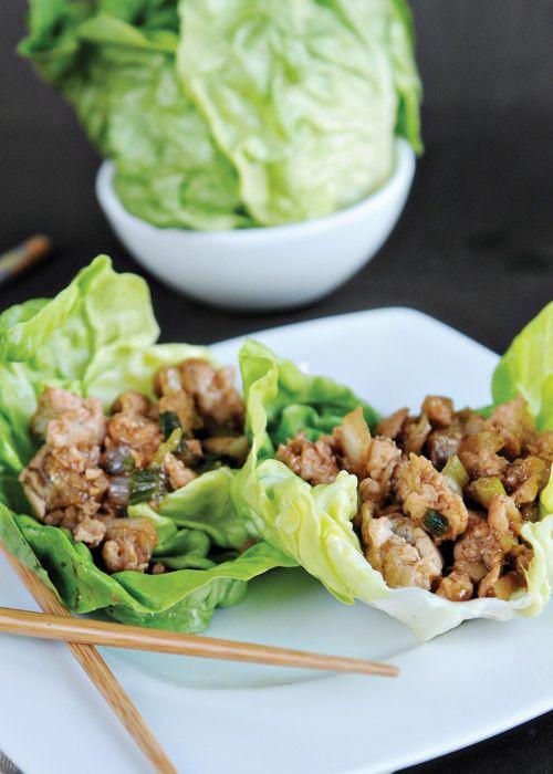 Ground Chicken Lettuce Wraps  Ground Chicken Lettuce Wraps Recipe