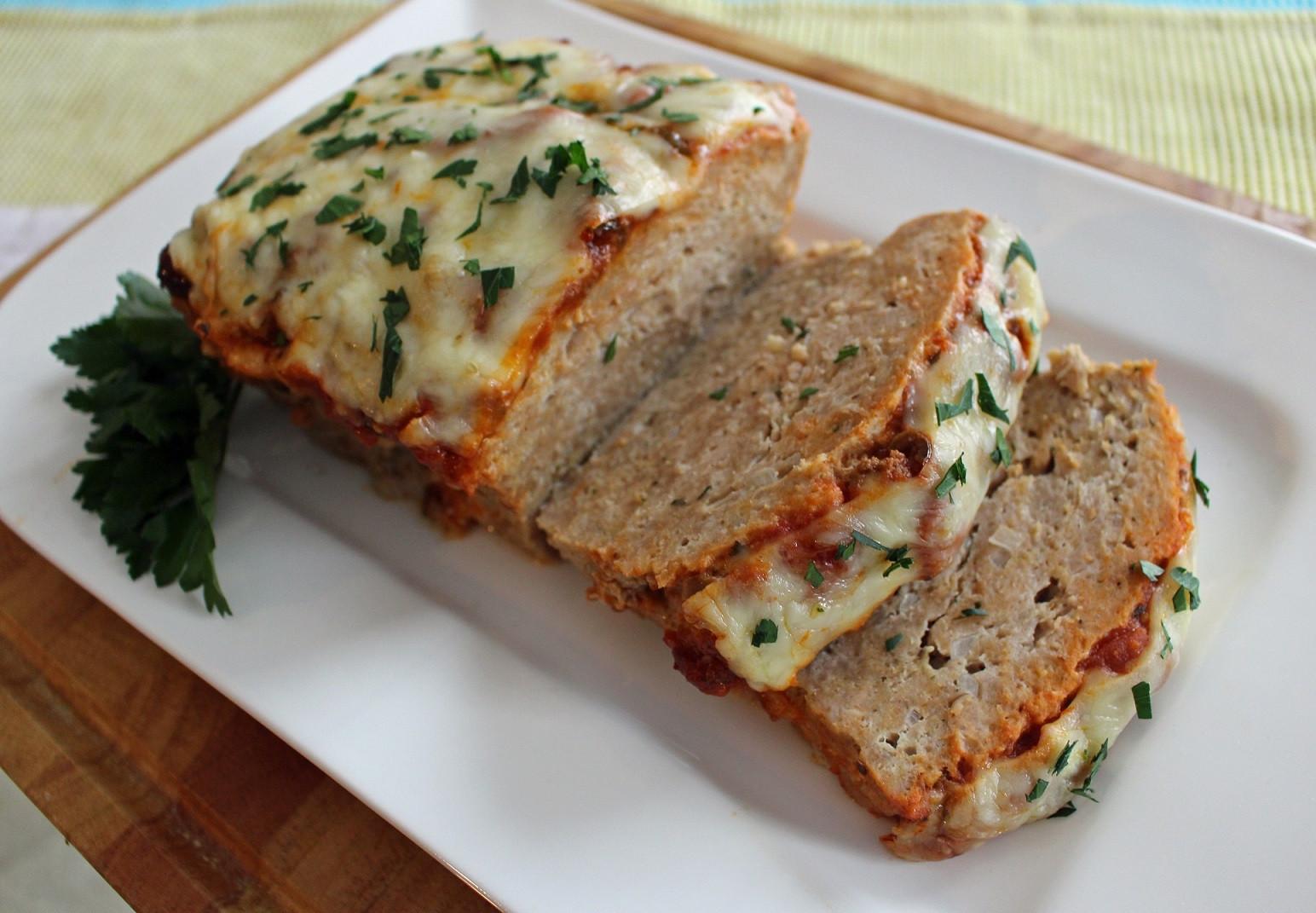 Ground Chicken Meatloaf  Warming Winter Meals Italian Chicken Meatloaf Listen to