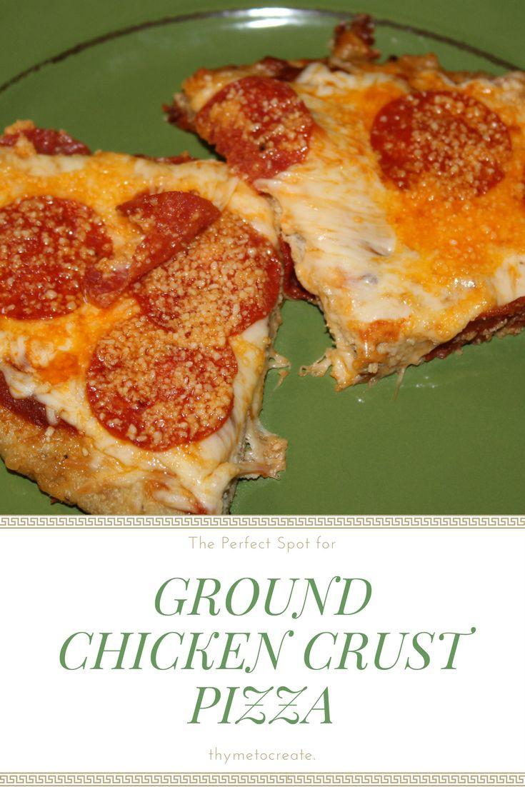 Ground Chicken Pizza Crust  Best 25 Ground chicken recipes ideas on Pinterest