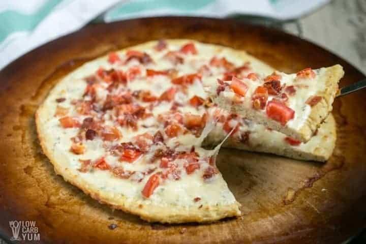 Ground Chicken Pizza Crust  Bacon Ranch Chicken Crust Pizza Keto & Gluten Free