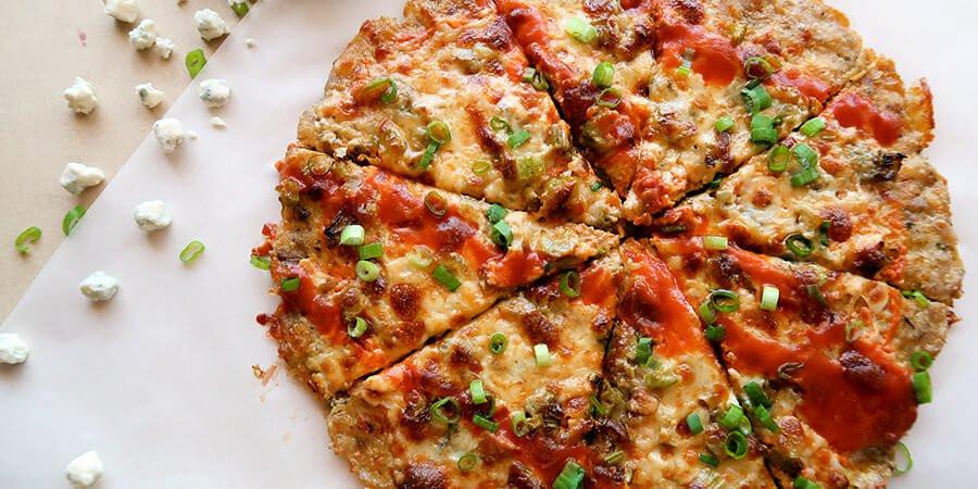 Ground Chicken Pizza Crust  Buffalo Chicken Crust Pizza