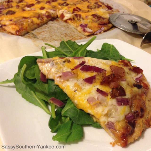 Ground Chicken Pizza Crust  Chicken Pizza Crust Sassy Southern Yankee