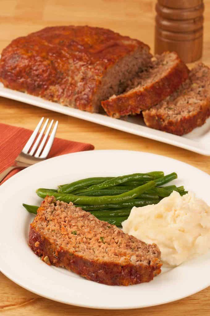 Ground Pork Meatloaf  Old Fashioned Meatloaf Recipe