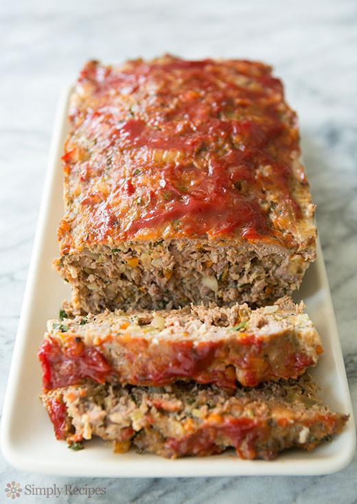 Ground Pork Meatloaf  Classic Meatloaf Recipe
