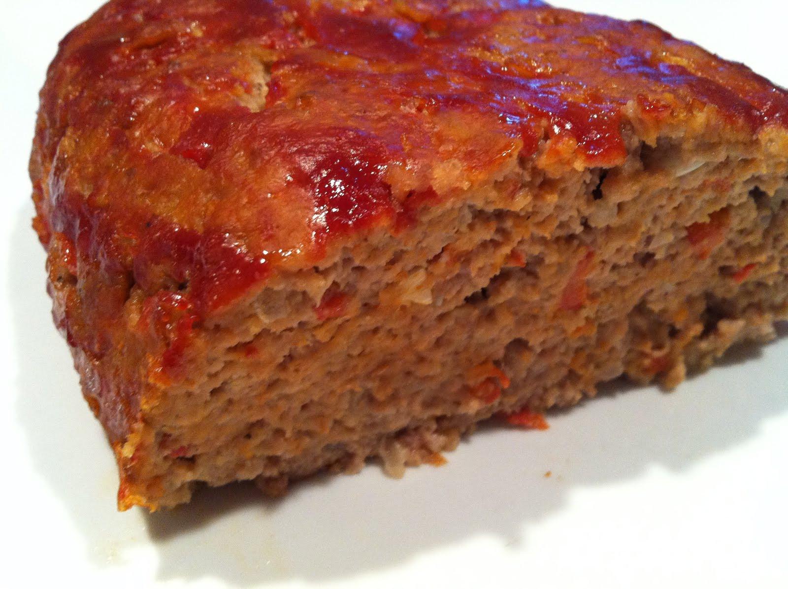 Ground Pork Meatloaf  Foo Mom s Cookbook Egg Free Meatloaf