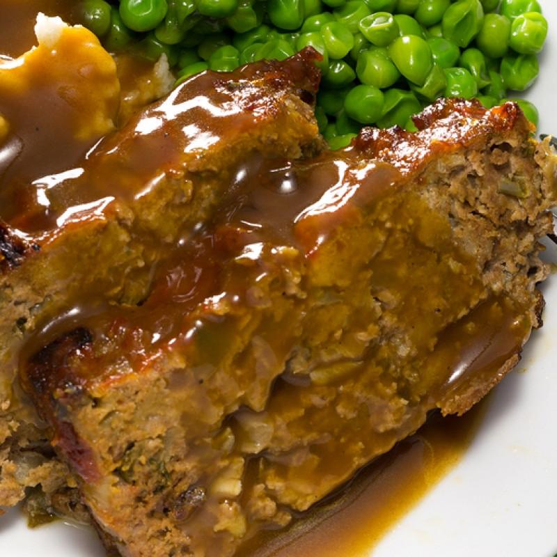 Ground Pork Meatloaf  Meatloaf And Gravy Recipe