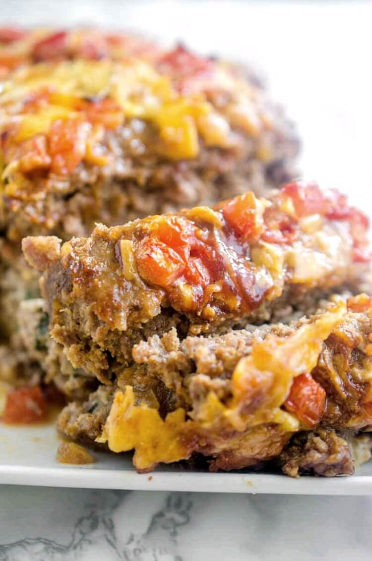 Ground Pork Meatloaf  Veggie Stuffed Meatloaf Recipe with video tutorial
