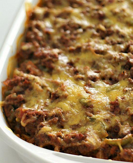 Ground Turkey Casserole  Million Dollar Ground Turkey Casserole