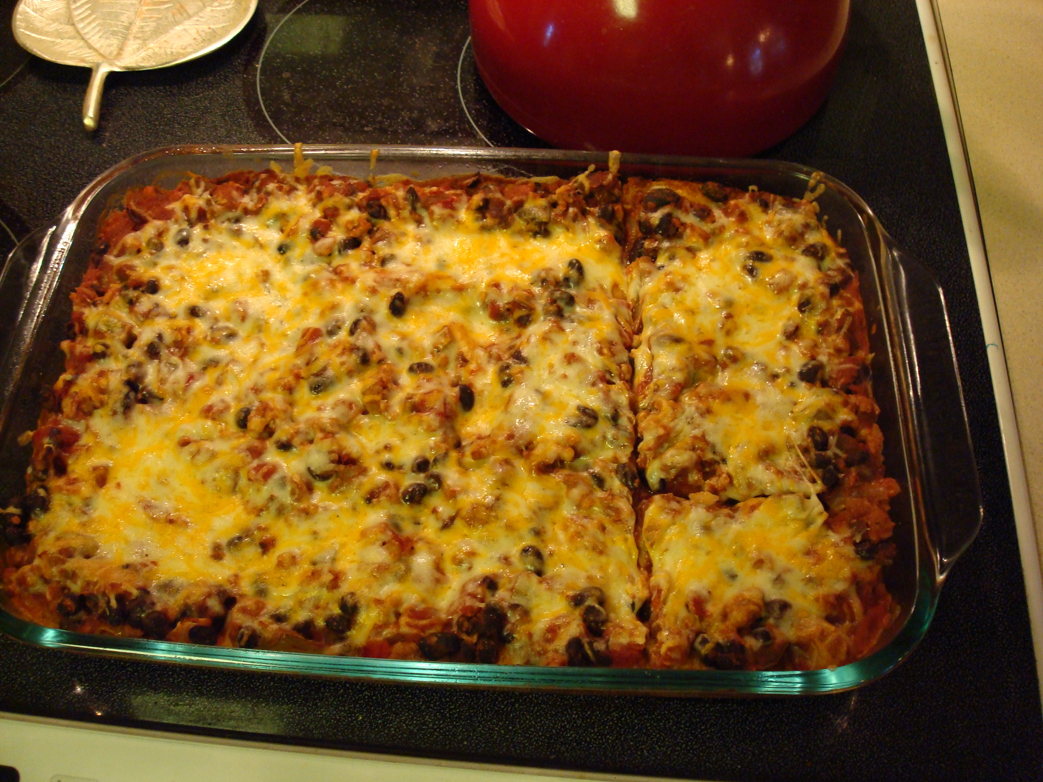 Ground Turkey Casserole  Turkey Enchilada Casserole