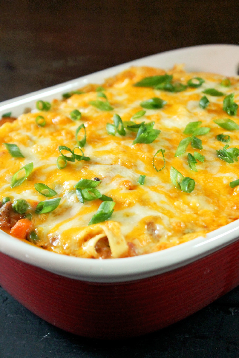 Ground Turkey Casserole  Turkey Noodle Casserole