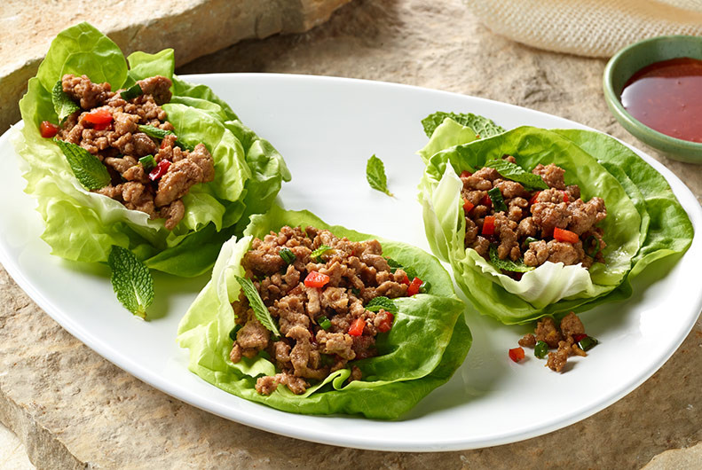 Ground Turkey Lettuce Wraps  Seattle Ground Turkey Lettuce Wraps Jennie O Recipes