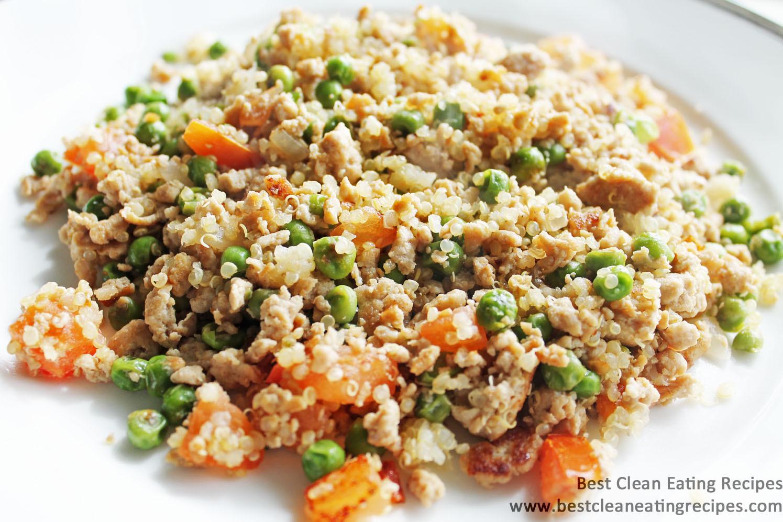 Ground Turkey Meals  Clean Eating Recipe – Ground Turkey and Quinoa Stir Fry