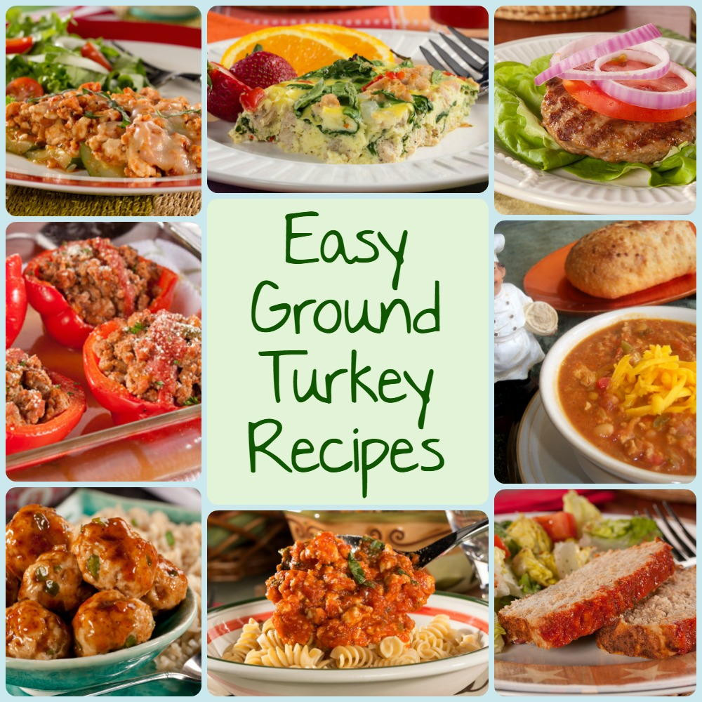 Ground Turkey Meat Recipies  10 Easy Ground Turkey Recipes Chili Burgers Meatloaf