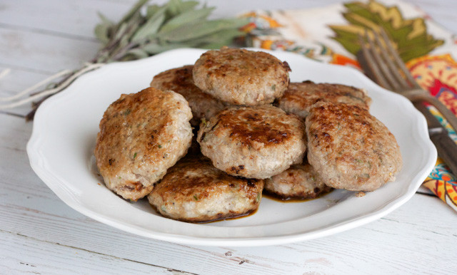 Ground Turkey Patties  Pear Ginger and Turkey Patties