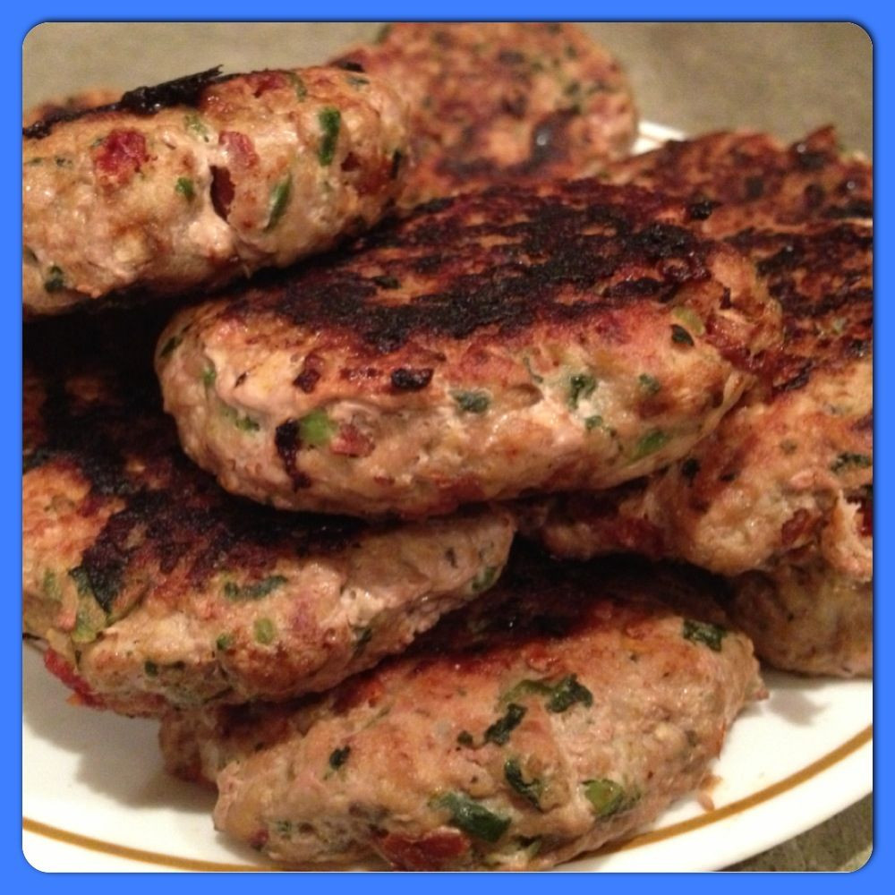 Ground Turkey Patties  Paleo Picante Turkey Patties Makes 20 patties 3 oz each