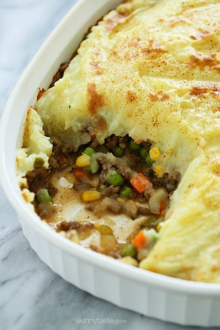Ground Turkey Shepherd'S Pie  Make e of These 25 Ground Turkey Recipes Tonight