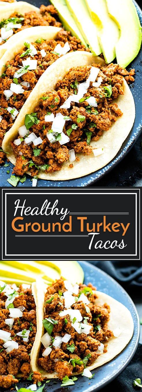 Ground Turkey Taco Recipe  ground turkey taco seasoning recipe
