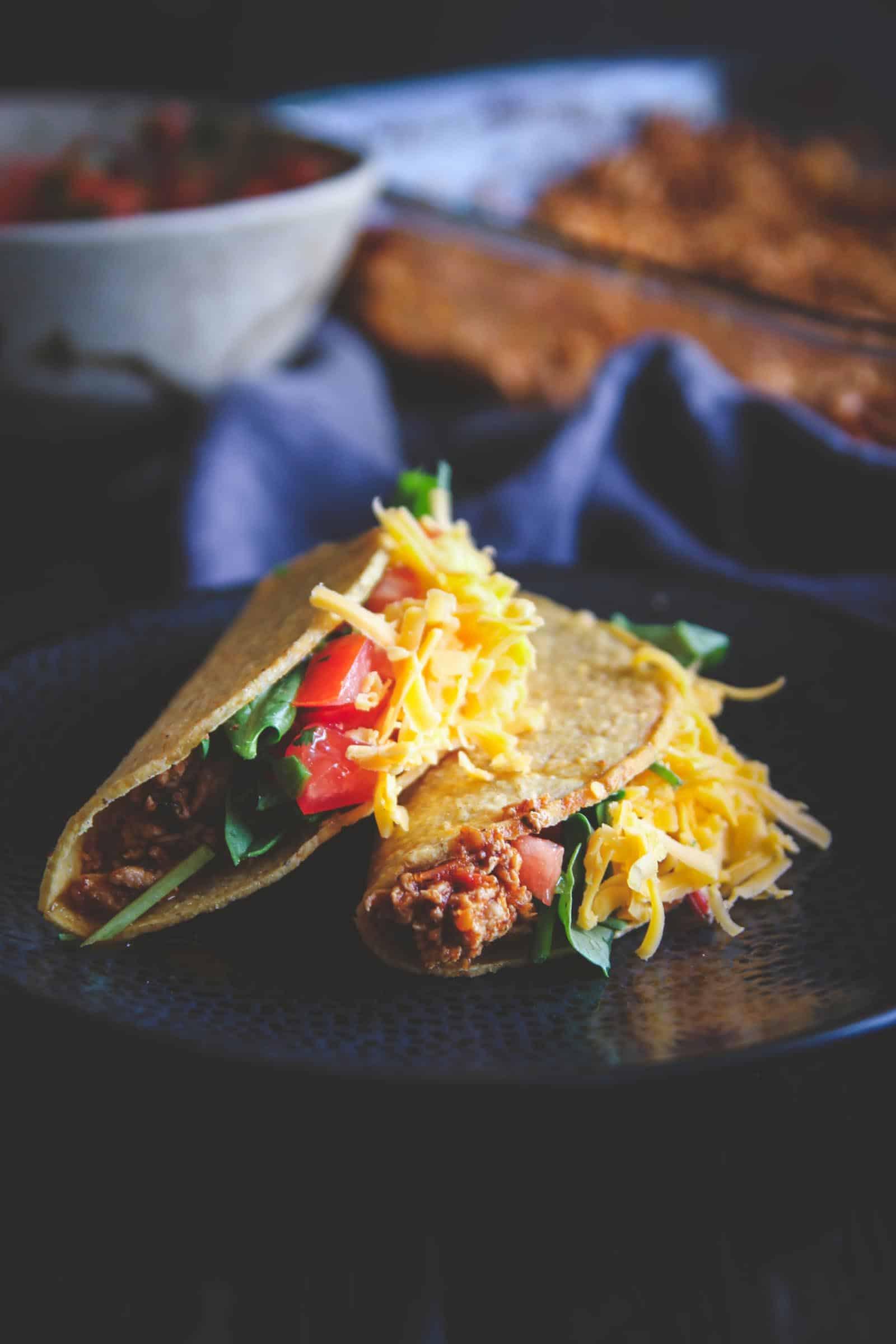 Ground Turkey Taco Recipe  The Best Ground Turkey Tacos Sweetphi