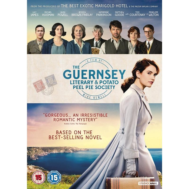 Guernsey Literary And Potato Peel Pie Society  The Guernsey Literary and Potato Peel Pie Society DVD