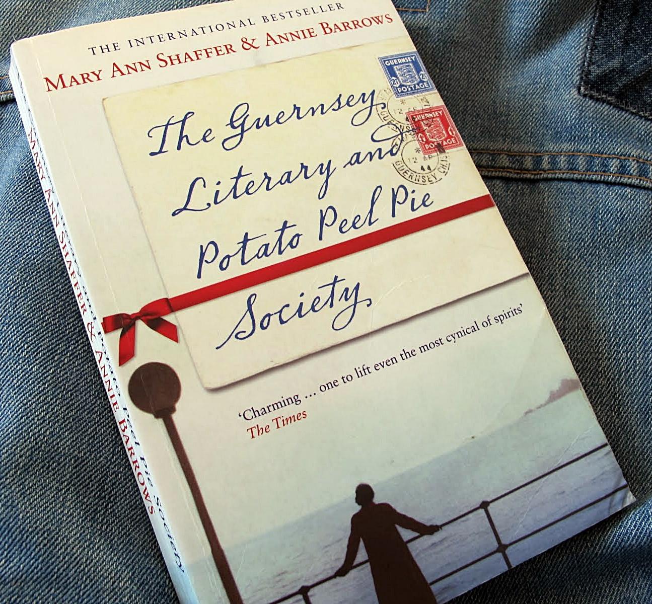 Guernsey Literary And Potato Peel Pie Society  Mail Adventures The Guernsey Literary and Potato Peel Pie