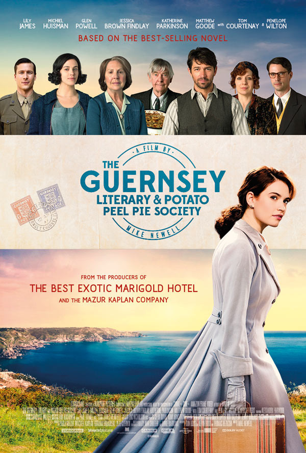 Guernsey Literary And Potato Peel Pie Society  WIN movie tickets to see The Guernsey Literary And Potato