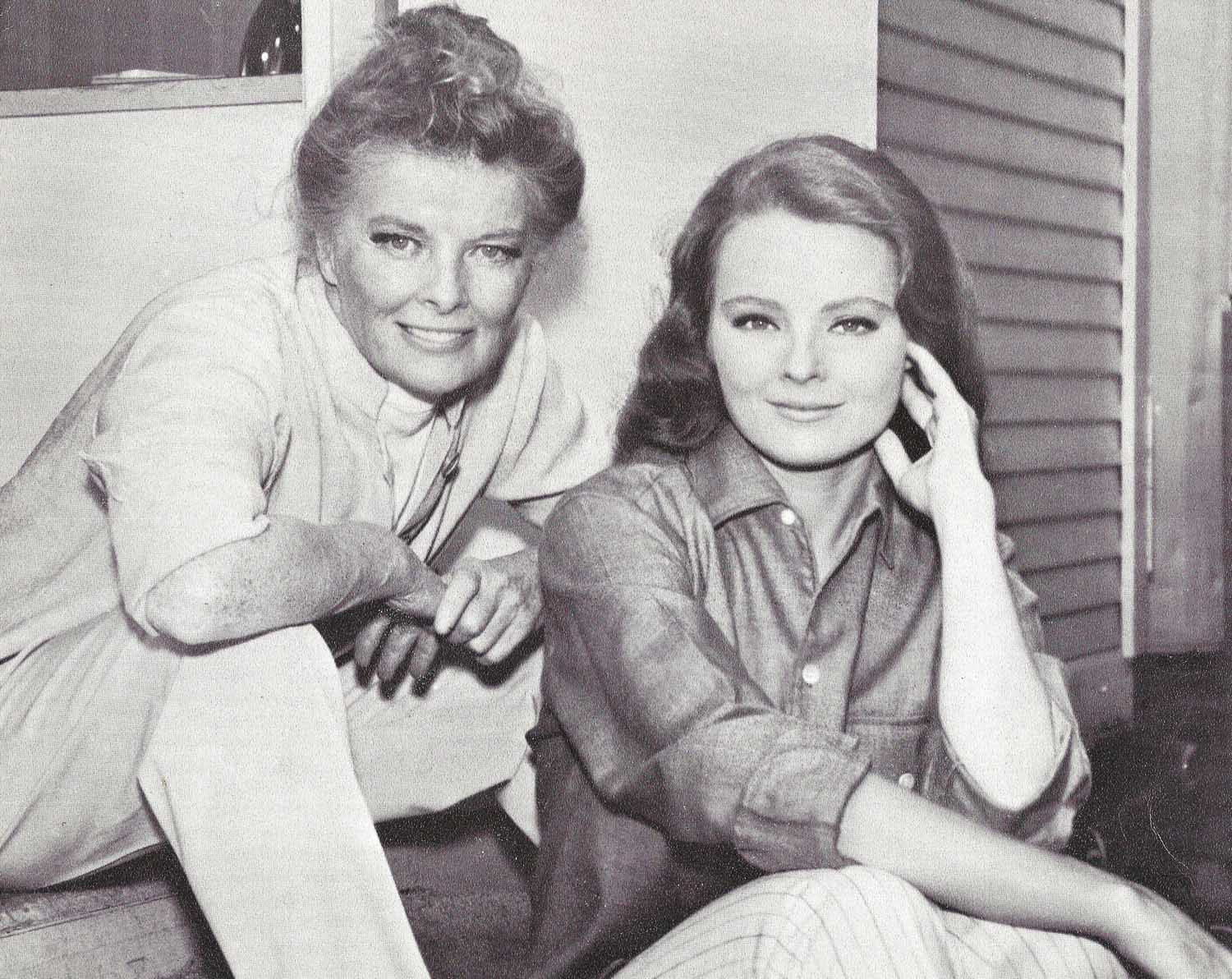 """Guess Who'S Coming To Dinner?  KATHARINE HEPBURN & KATHARINE HOUGHTON """"Guess who s ing"""