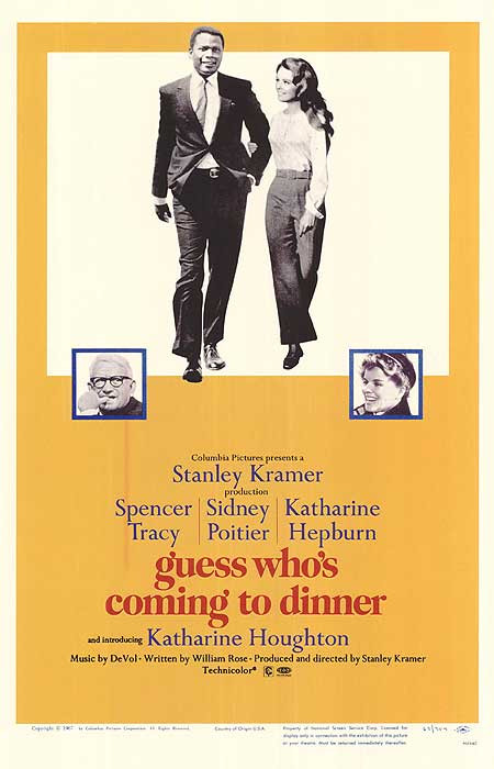 Guess Whos Coming To Dinner Cast  Matt vs the Academy 1967 Guess Who s ing To Dinner