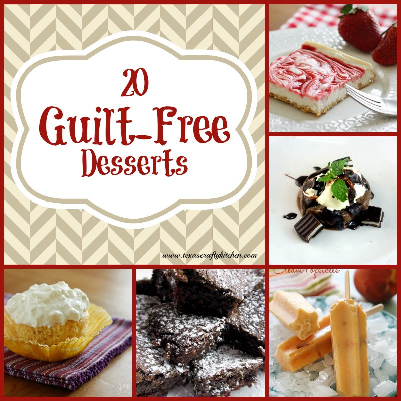 Guilt Free Desserts  20 Guilt Free Desserts Texas Crafty Kitchen