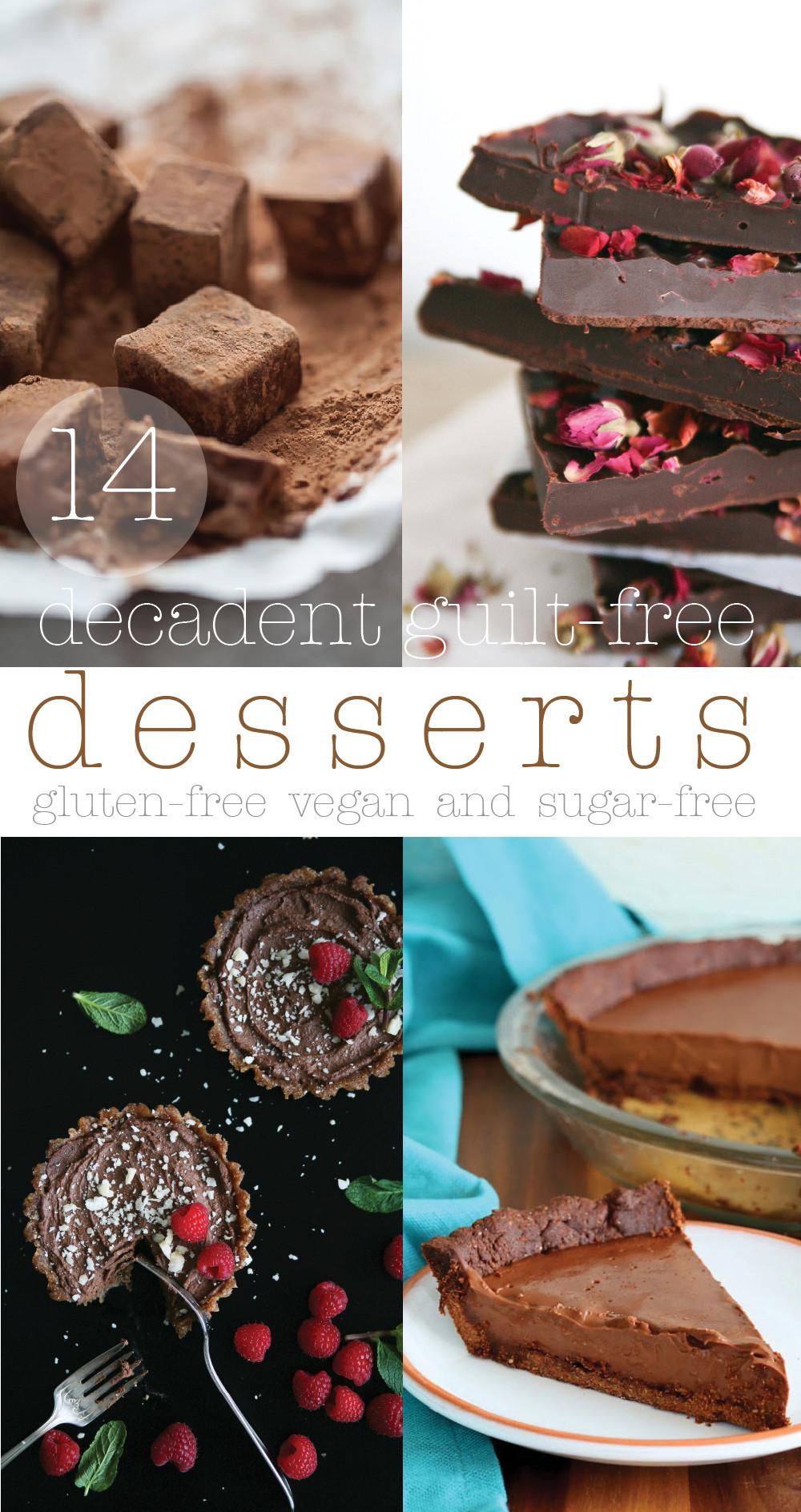 Guilt Free Desserts  14 Decadent Guilt free sugar free Desserts Pure Ella